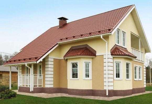 Каркасно-панельный дом по технологии ТАМАК.