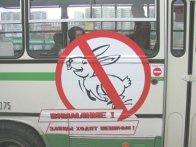"""Автобусных """"зайцев"""" будут штрафовать беспощадно."""