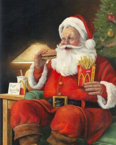 Санта-Клаус - американский идеал