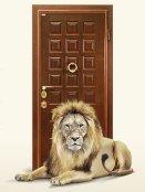 Даже царь зверей не защитит лучше, чем железная дверь