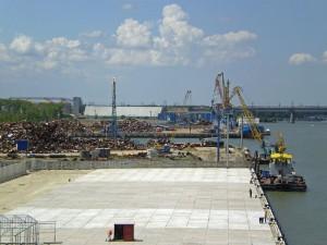 Строительство ростовского порта