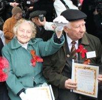 Ветераны празднуют новоселье в Левенцовке