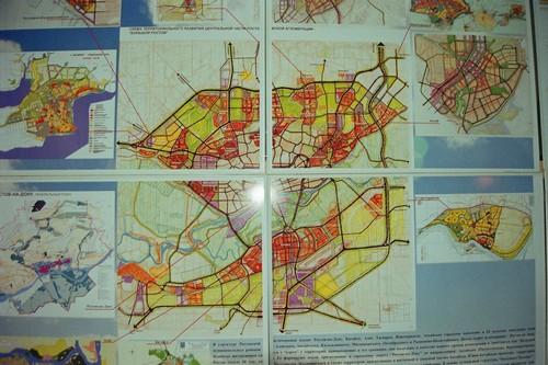 Карта Большого Ростова