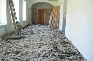 От хронического недоремонта здание приходит в негодность