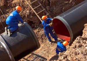 Строительство новых объектов канализации.