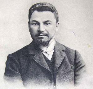 Писатель Федор Крюков.