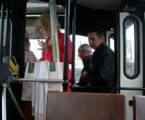 Безналичка в автобусе.