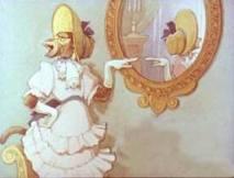 В зеркале увидев образ свой...