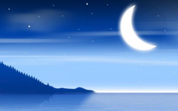 Магическая луна.