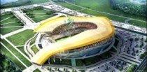 Проект стадиона в Ростове отличает оригинальность.