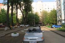 Двор МКД.