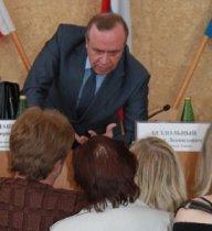 Сергей Сидаш в народной гуще.