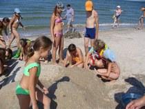 Детский лагерь на Азовском море.