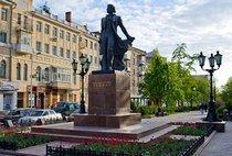 Памятник Пушкину в Ростове.