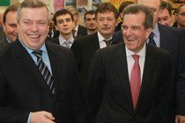 Весна-2011: Чернышев и Голубев вроде бы довольны друг другом.