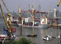 Западный порт в Ростове-на-Дону.