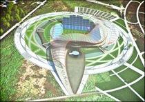 Проект стадиона в Ростове.