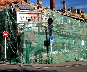 Как ремонтируют исторические здания в Ростове.