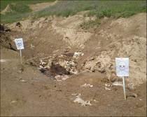 Захоронения ядовитых отходов.