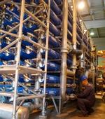 Очистные сооружения водопровода в Дугино.