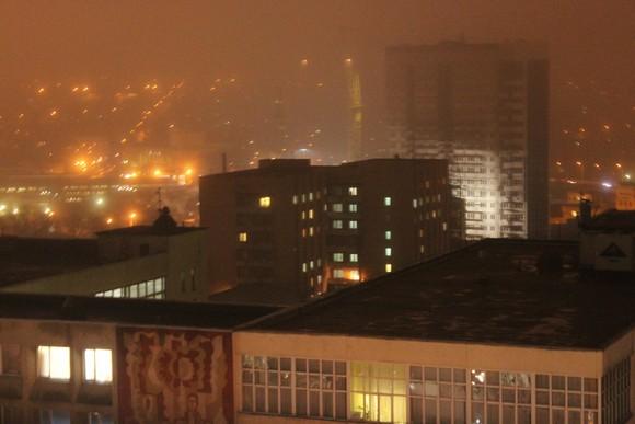 Ростов ночью.