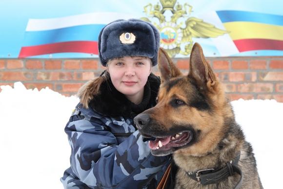 Вероника Смирнова со своим питомцем.