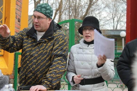 Ирина Трухлова и Николай Иванов.