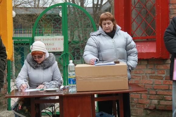 Людмила Дьякова и Лидия Саприка.