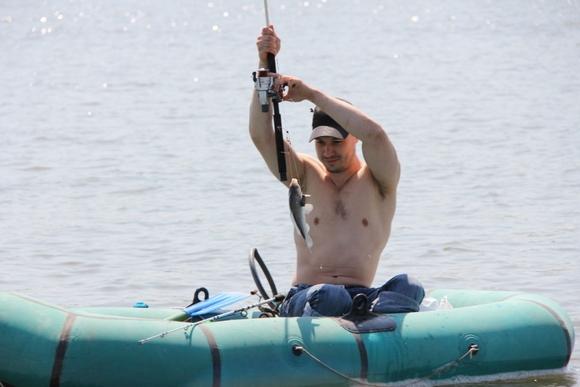 Рыбак на Дону