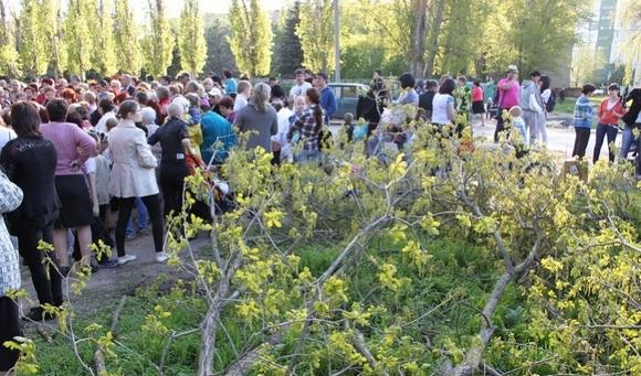 Митинг в Кулешовке