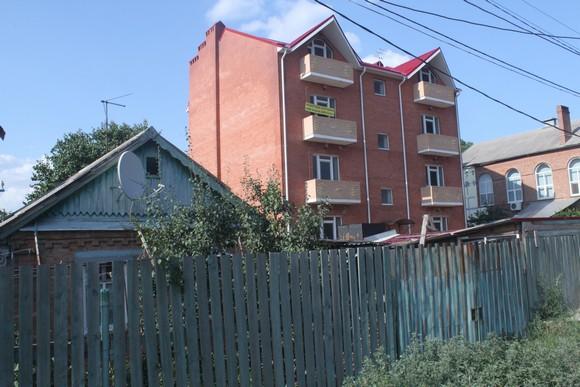 Жилищное строительство на территории рстовских садоводческих товариществ.