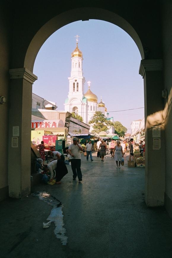 Храм на базаре.