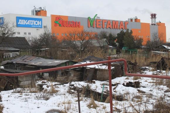 Ашан в Ростове.