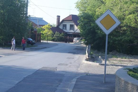 Улицы внутри поселка.