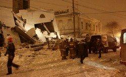 Обрушение дома в Таганроге.