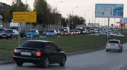 Проспект Нагибина в Ростове-на-Дону.