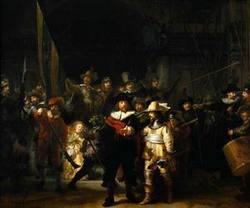 Рембрандт. Ночной дозор.