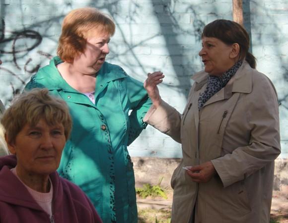 Жильцы дома на Таганрогской.