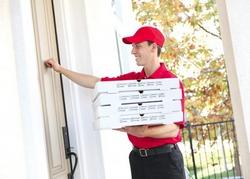 Заказ еды по Интернету.