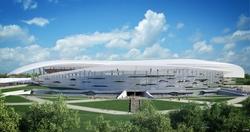 Проект стадиона в Ростове-на-Дону.