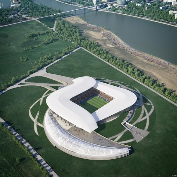 Новый стадион должен дать толчок развитию Левбердона.