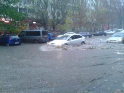 Наводнение в Ростове.