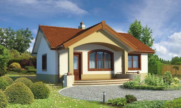 Проект компактного дома в БЛАГОДАТНОМ.
