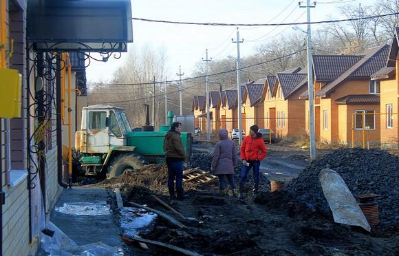 Первые жильцы Березовой рощи.
