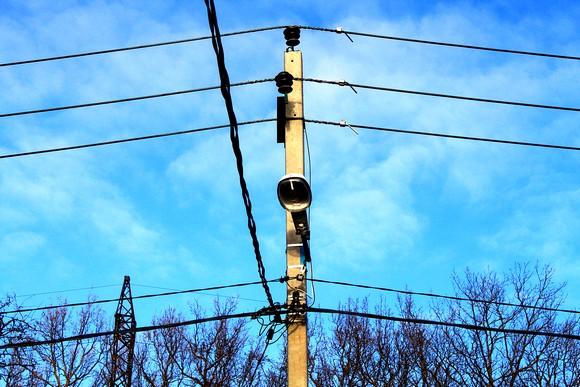 Электрификация поселка.