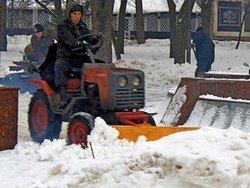 Зима в Ростове.