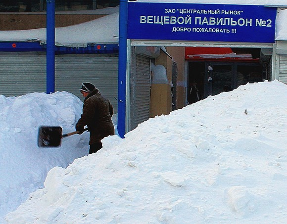 Центральный рынок Ростова.