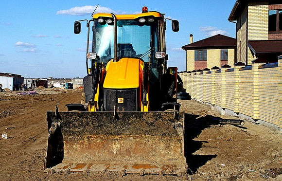 Строительство въезда в коттеджный поселок от трассы Азов — Ростов.