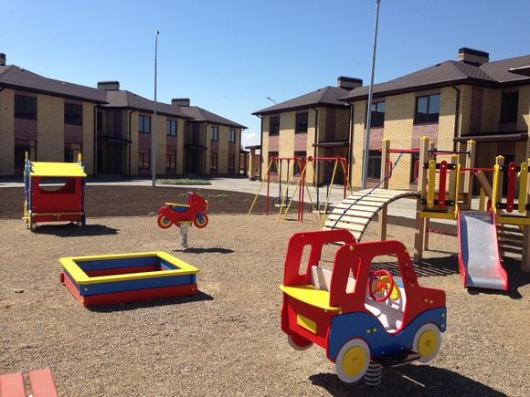 Ключевым объектом уличного благоустройства стала новая детская площадка.