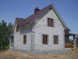 Строительство домов в Ростове.